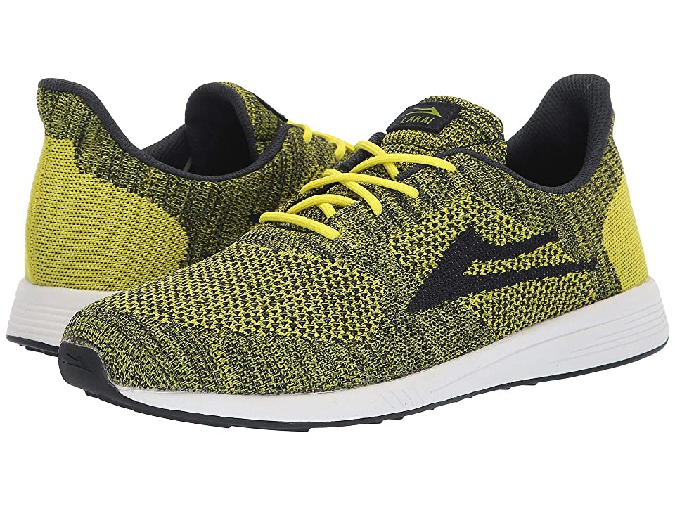 Lakai Evo (Lime/Navy Knit) Men