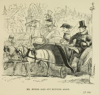 Illustration Print - 'Out Hunting Again' by John Leech (1892), 5