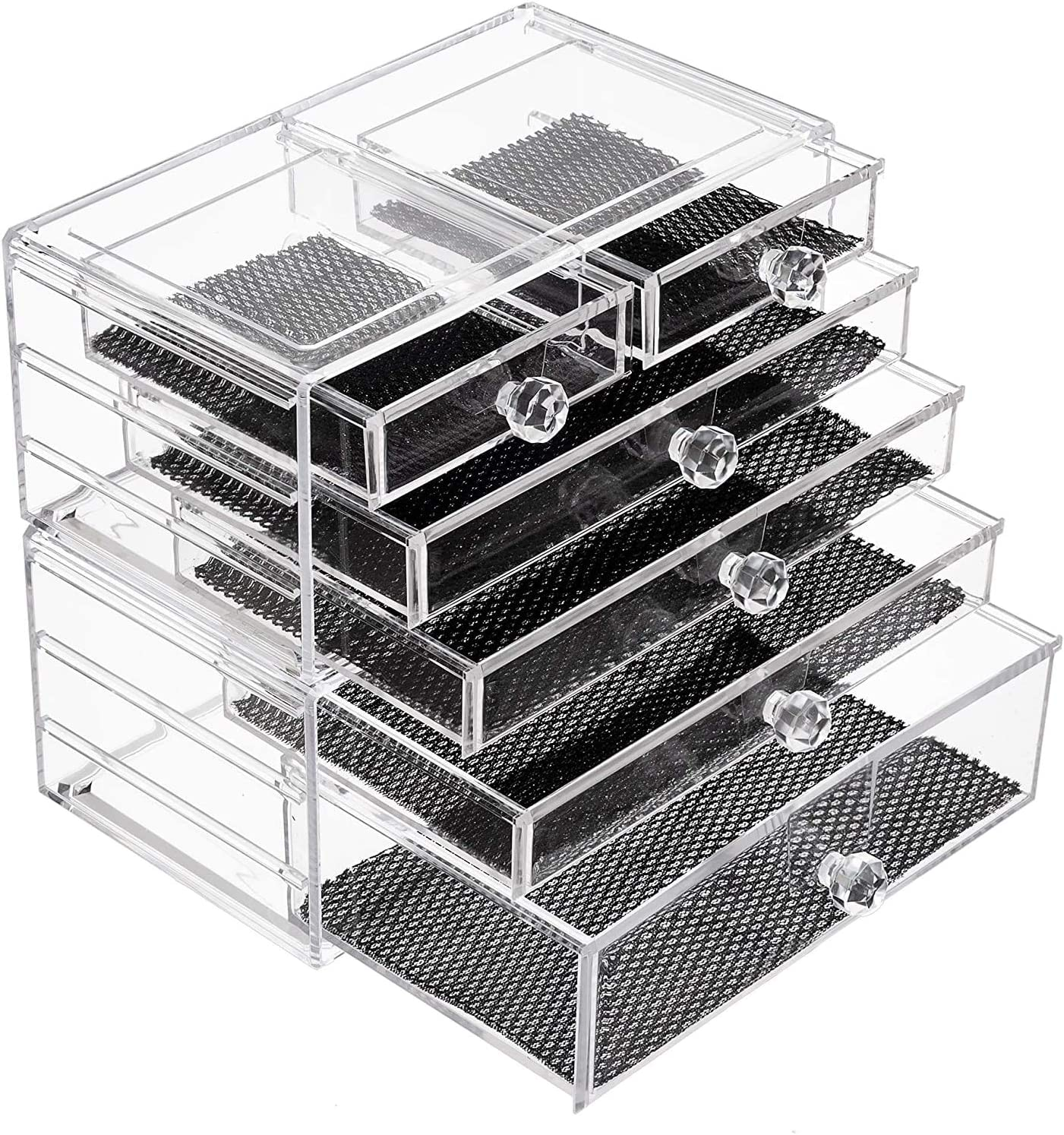 iPEGTOP Makeup Raleigh Mall Organiser Storage Drawer Acrylic Cosmetic Selling Clear
