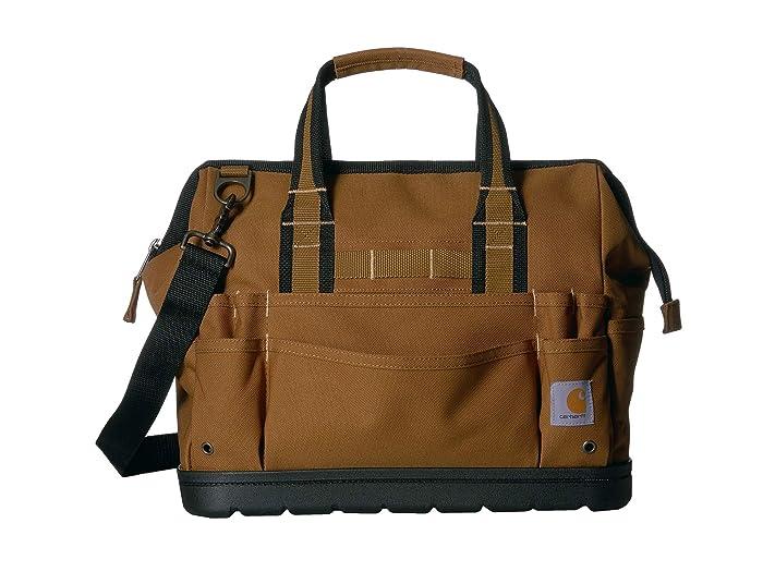 Carhartt  16 Legacy Tool Bag with Molded Base (/Brown) Athletic Handbags