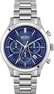 Hugo Boss Metronome, Chronograph Men's Watch, Silver - 1513801