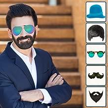 Man Photo Editor - Beard Mustache Hairstyle Cap