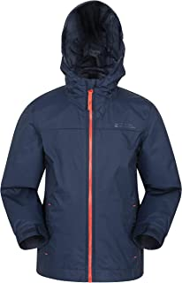 Mountain Warehouse Torrent Kids Waterproof Rain Jacket - Boys & Girls