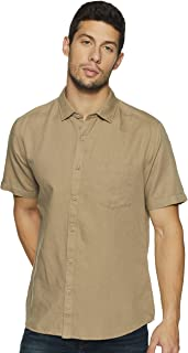 Byford By Pantaloons Men's Solid Regular fit Casual Shirt