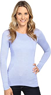 The North Face Womens Long Sleeve Go Seamless Wool Top
