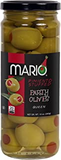 Mario Camacho Foods Pimento Stuffed Queen Party Olives, 10 Ounce