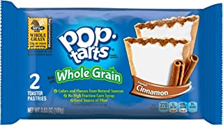 Pop-Tarts BreakfastToaster Pastries, Whole Grain Frosted Brown Sugar Cinnamon Flavored, Bulk Size, 144 Count (Pack of 12, 21.1 oz Boxes)