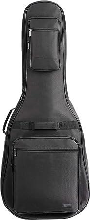Amazonベーシック ギターバッグ アコースティックギター 104-107cm用 1.3cmスポンジパッド入り 防水