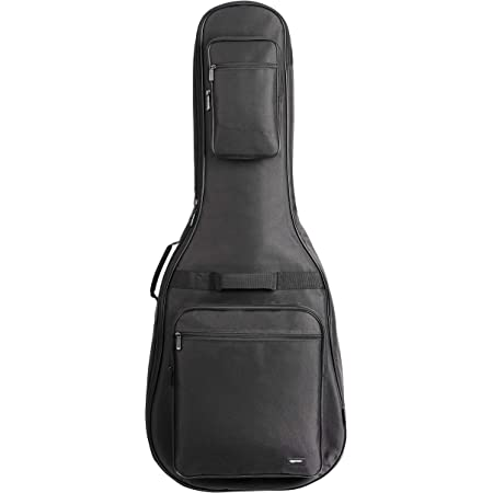 Amazon Basics Guitar Bag for 41-42 Inch Acoustic Guitar - 0.5-inch Sponge Padded, Waterproof