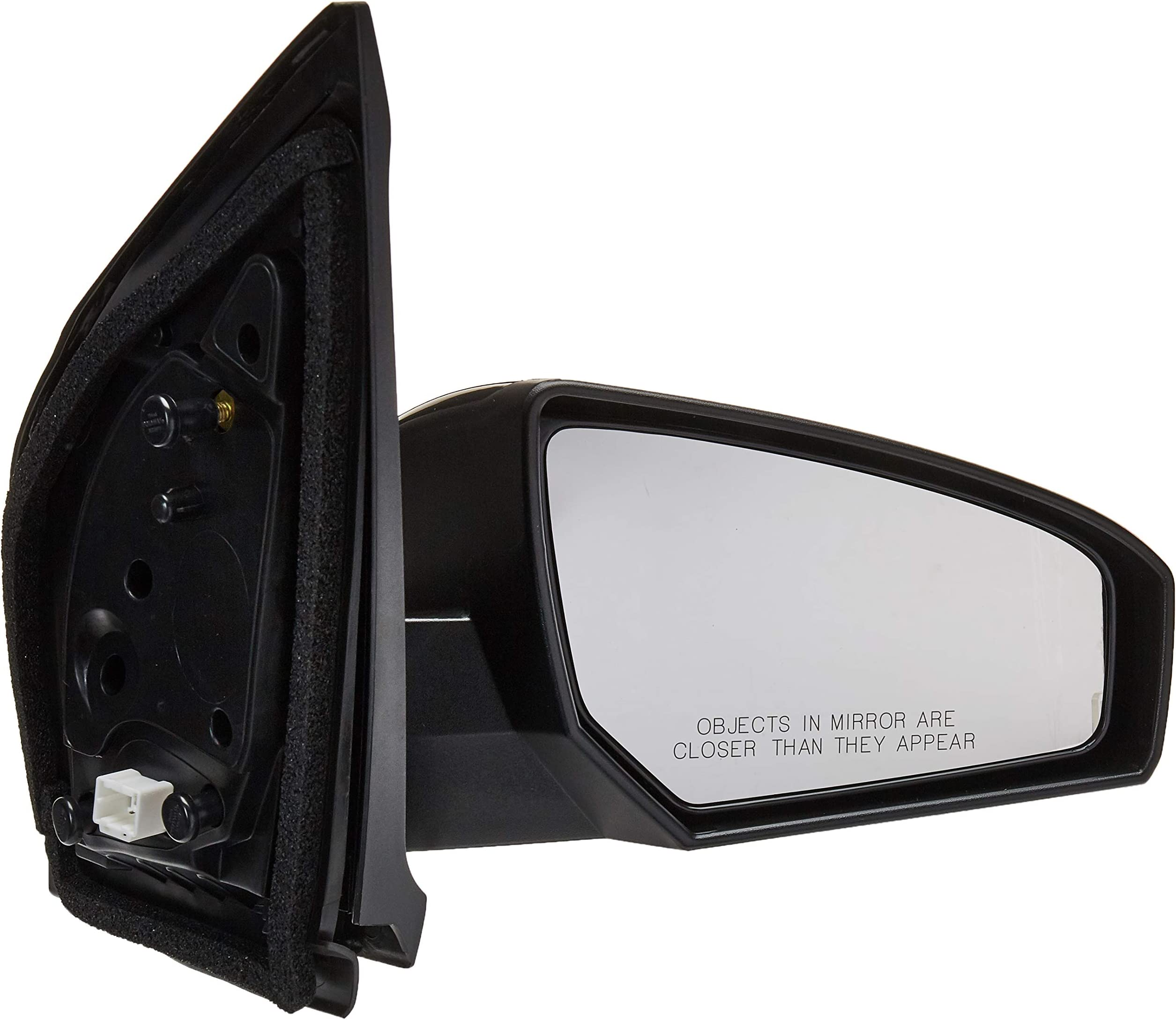 CTCAUTO Left Side View Mirror Driver Side Mirror Compatible with 2011-2018 D odge Durango Power Heating Manual Folding CH1320388