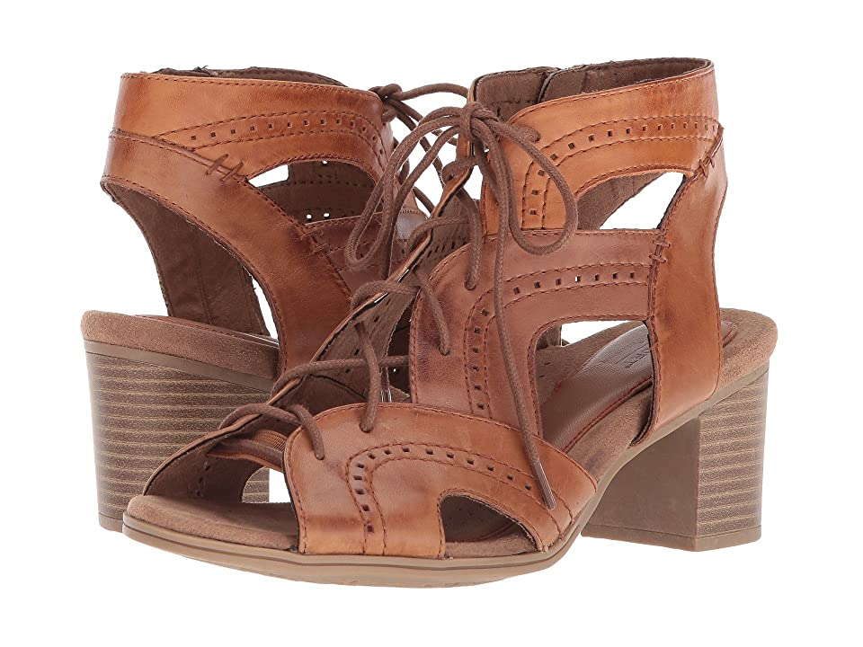 Rockport Cobb Hill Collection Cobb Hill Hattie Open Lace (Tan Leather) Women