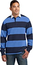 Sport-Tek Men's Long Sleeve Rugby Polo
