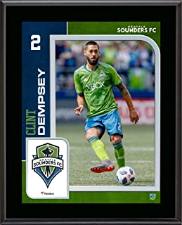 Clint Dempsey Seattle Sounders 10.5'' x 13'' Sublimated Player Plaque - Soccer Plaques and Collages