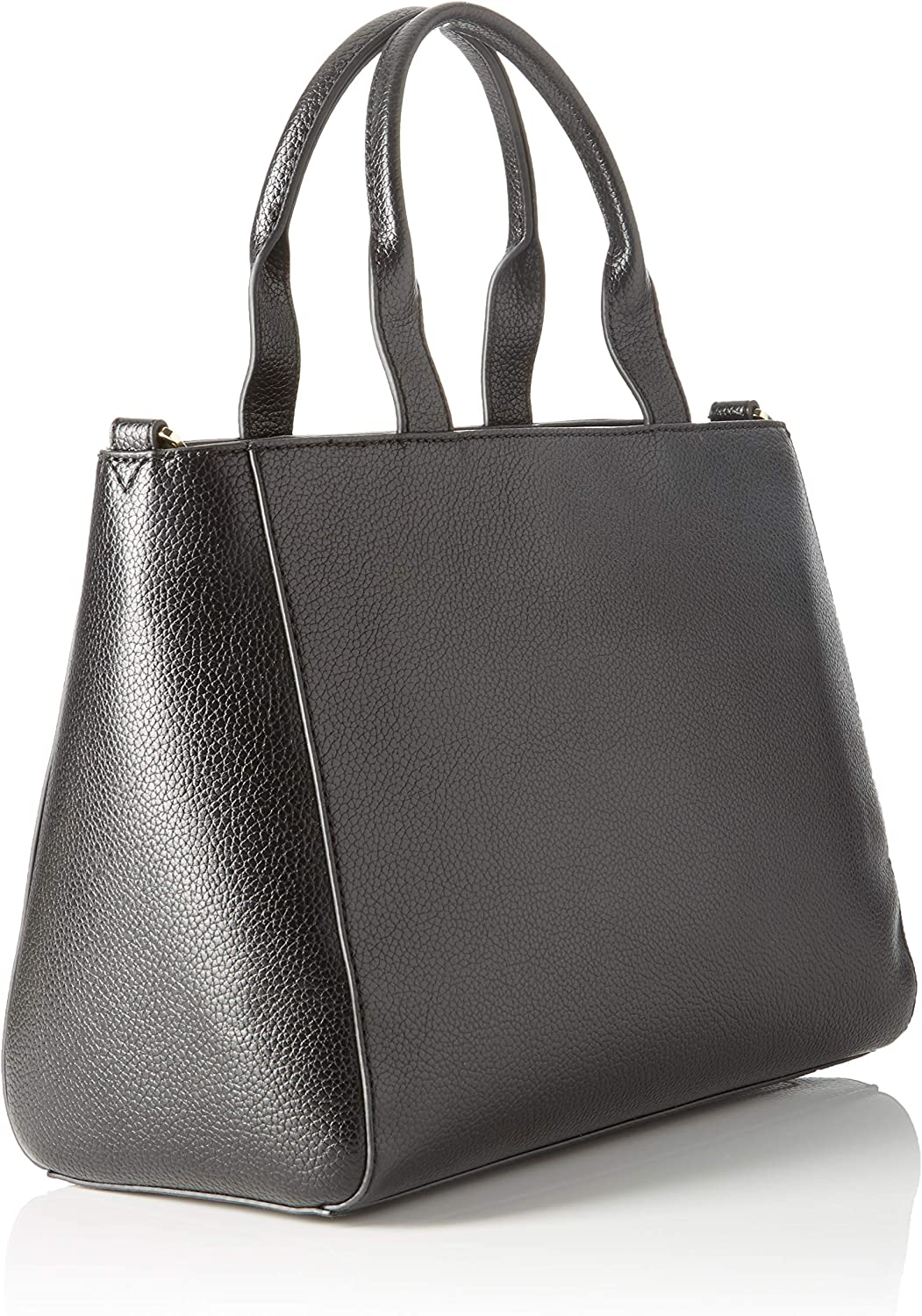 Trussardi Jeans Faith Shopper MD Tumbled Ecole, Sac à Main Femme, 23.5x15x32 centimeters (W x H x L) Noir (Black)