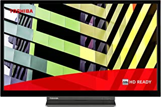 Toshiba 24WD3C63DB 24-inch, HD Ready, Freeview Play, Smart TV, DVD Built-In (2021 Model)