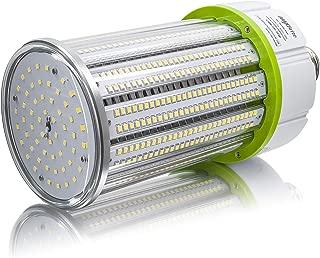 100W LED Corn Light Bulb 5000K Replaces 700W, 13,500 lumens Mogul Base E39, 100-277V AC UL/cUL DLC