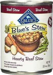 BLUE'S Stew Adult Wet Dog Food 12.5OZ pack of 12