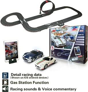 AGM Slot car Set with Racing Assistant APP No.ASR-01 1:43 Scale