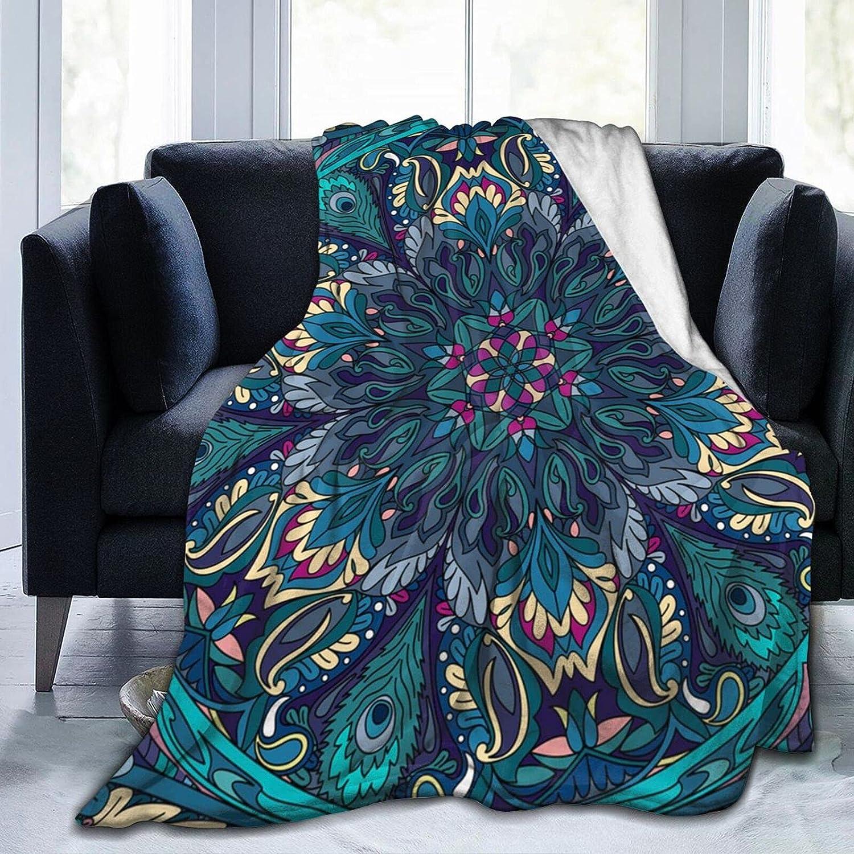 HHFASN Lightweight Anti-Pilling New Free Shipping Flannel Mandala Now on sale Blanket Pattern