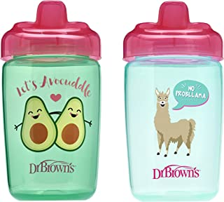 Dr. Brown's Milestones Hard Spout Sippy Cup, 12 ounce, 2 Count