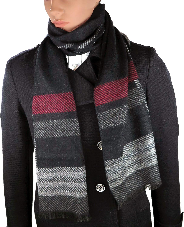Debra Weitzner Mens Cashmere Feel Scarf Cotton Scarves Warm Fashion Accessories 12 Prints