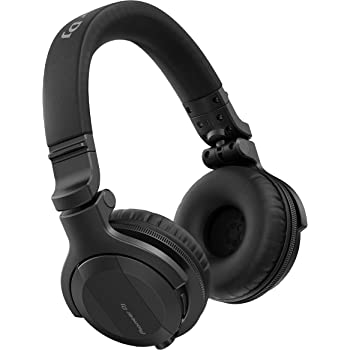 Pioneer DJ DJ Headphones, Black (HDJ-CUE1BT-K)