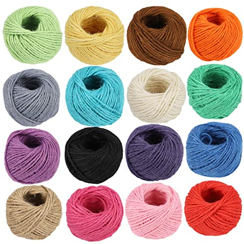 Great for Strapping Tying Packages /& More Made of Natural High-Strength Jute Twine 200ft 3 Roll Pack Pro-Grade The Twine Brothers 200/' 48# Twine Eco-Friendly Vegetable Fibers 3-Ply Cord Rated at 48lb Center-Pull for Easy Use