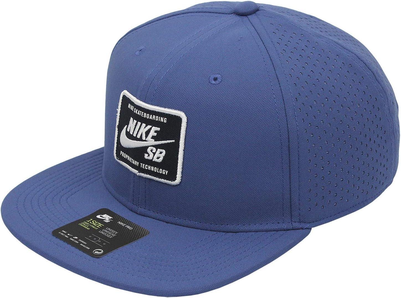 Nike SB AeroBill Pro 2.0 Snapback Hat - BV2659 (Midnight Navy ...