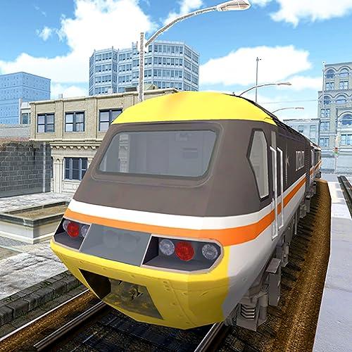 Drive Super Metro Train 3D Game: Train Driving Simulator Pro 2019