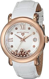 Swiss Legend Women's 22388-RG-02 Diamanti Analog Display Swiss Quartz White Watch