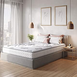 Classic Brands Decker Hybrid Memory Foam and Innerspring 10-Inch Mattress, Full