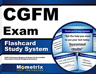 CGFM Exam Flashcard Study System: CGFM Test Practice Questions & Review for the Certified Government Financial Manager Examinations