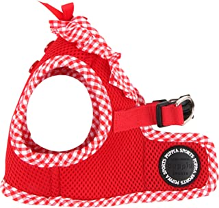 Puppia Vivien Harness B, Medium, Red