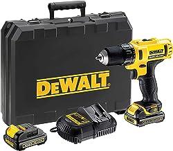 Dewalt DCD710C2-QW Taladro atornillador XR 10, 180 W, 10.8 V, Negro, Amarillo