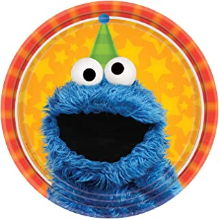 BirthdayExpress Sesame Street Party Supplies 48 Pack Dessert Plates