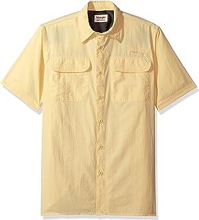 قميص رجالي قصير الأكمام من Wrangler Authentics