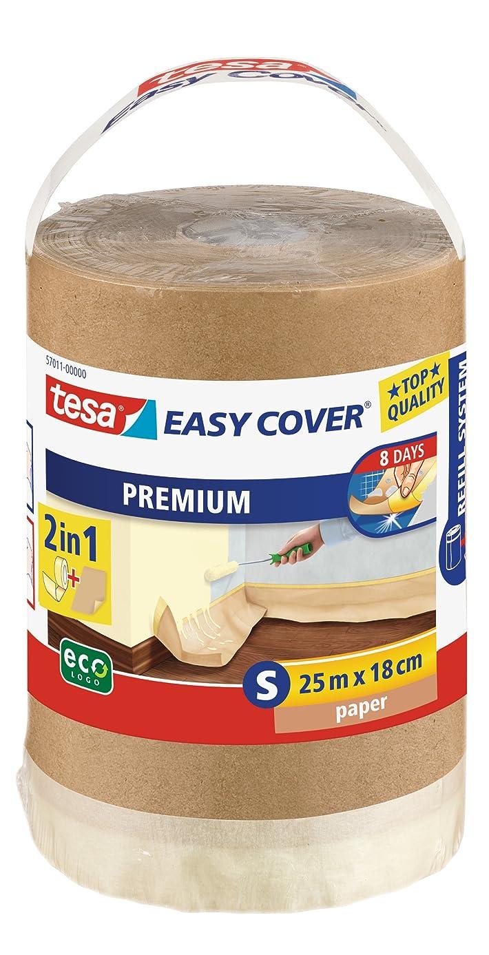 tesa Easy Cover Premium 57011-00000-03 Masking Paper Refill Roll