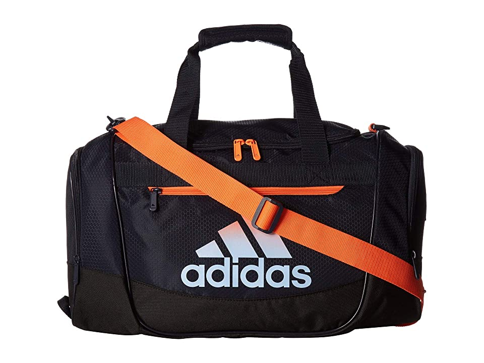 adidas Defender III Small Duffel (Legend Ink Blue/Hi-Res Coral/Glow Blue) Duffel Bags, Black