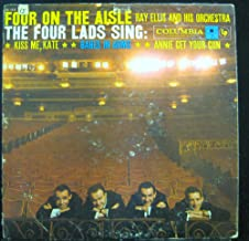 THE FOUR LADS FOUR ON THE AISLE vinyl record