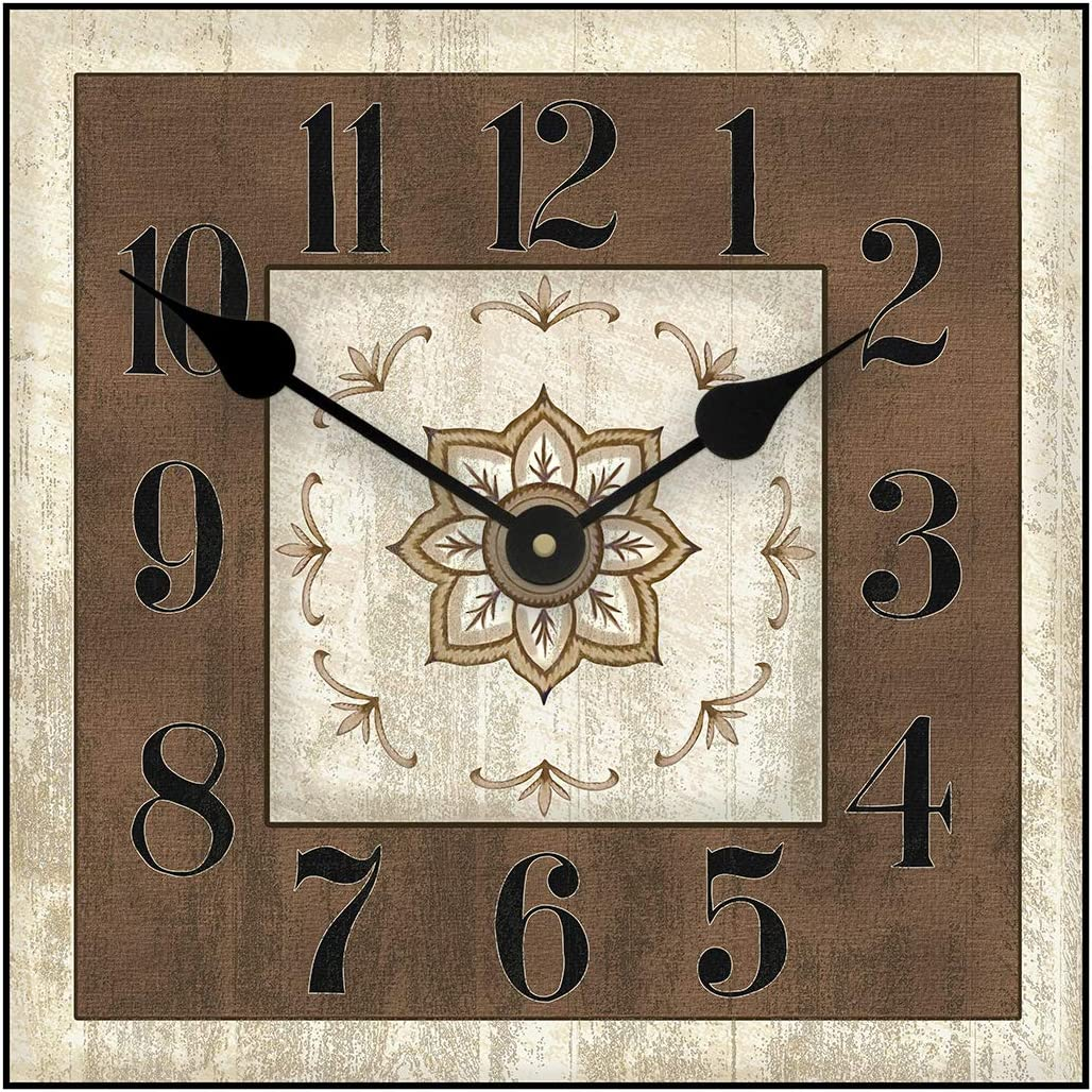 Charlotte Square Large Wall Clock 8 L for Max 80% OFF Great Sizes Bedroom Latest item