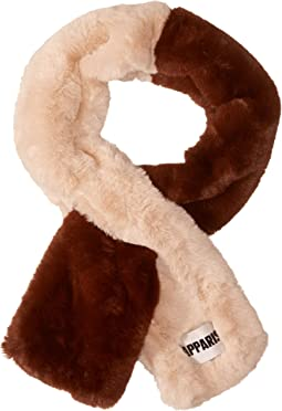 Roxanne Two-Tone Faux Fur Scarf