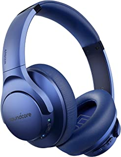 Anker Soundcore Life Q20 Hybrid Active Noise Cancelling Headphones, Wireless Over Ear Bluetooth Headphones, 40H Playtime, ...
