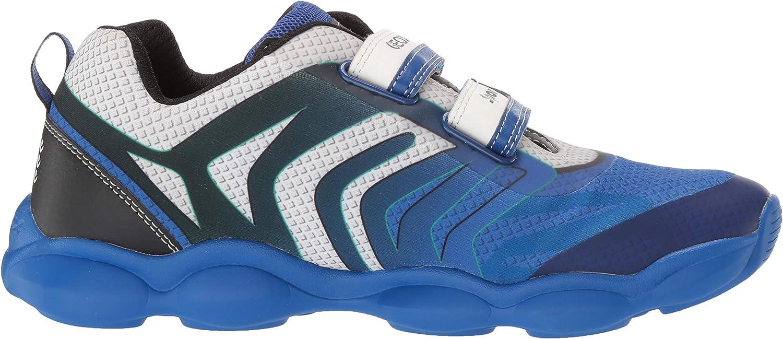 Geox Kids Munfrey Boy 6 Lightweight Velcro Sneaker