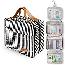 Toiletry Bag,WDLHQC Travel Hanging Makeup Bag,Waterproof Large CosmeticMake up Organizerfor Travel Accessories Kit,Bathroom Shower,Gifts for Her/Women,Men