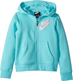 Fleece Lurex Hoodie (Little Kids)