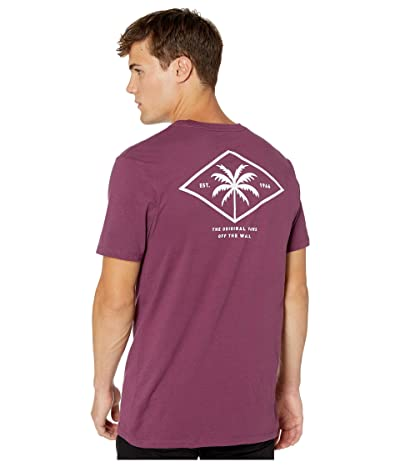 Vans Palm Diamond T-Shirt (Prune) Men