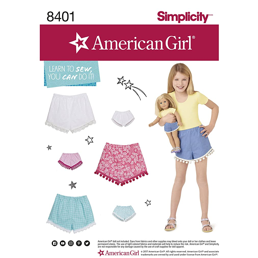 Simplicity Creative Patterns US8401K5 Children Sewing Pattern