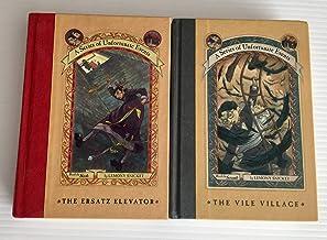 2 Books! A Series of Unfortunate Events (Volumes 6 & 7) 1) The Ersatz Elevator 2) The Vile Village