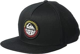 QUIKSILVER Men's ISLE of FROTHS Trucker HAT, Black, 1SZ