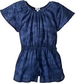 Tie-Dye with Lurex Romper (Little Kids)